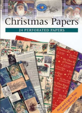 Christmas Papers - 24 Perforated Papers